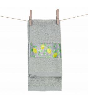 Кухонное полотенце 350GSM T0109-L.GREY