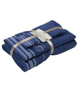 3-х предм. набор полотенец T0044 T0044-NIGHT BLUE