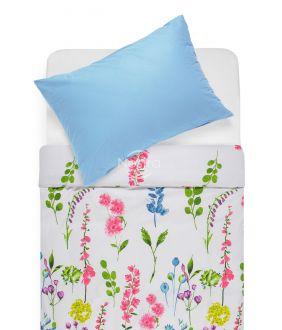 Kokvilnas gultas veļa DIOR 20-1538/00-0022-PINK/L.BLUE