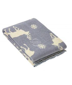 Шерстяное одеяло из мэриноса 80-3056-LIGHT GREY