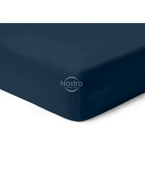 Fitted sateen sheets 00-0402-BLUE