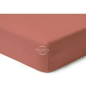 Fitted sateen sheets 00-0132-TEA ROSE