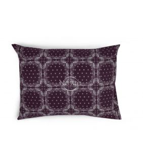 Flannel pillow cases 40-1045-DARK PLUM
