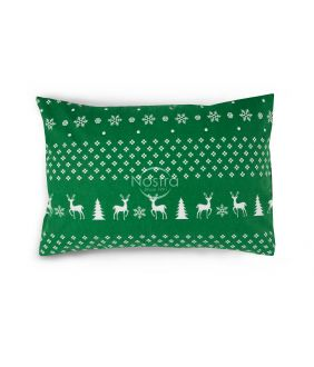 Flannel pillow cases 10-0544-GREEN