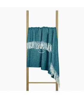 Woolen plaid MERINO-300 80-3253-MARINE