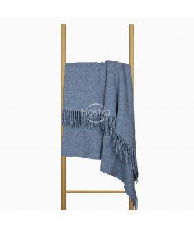 Vilnas pleds MERINO-300 80-3257-BLUE