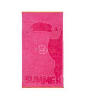 Beach towel 365J VELOUR T0128-PINK