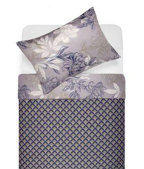 Satīna gultas veļa AUDREY 20-1612/30-0637-BLUE