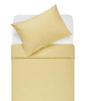 Kokvilnas gultas veļa DOTTY 00-0016-PALE BANAN