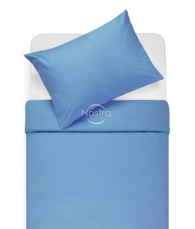 Cotton bedding set DOTTY 00-0236-LT.NAVY