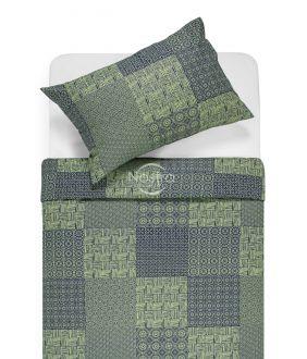 Cotton bedding set DORITA 30-0567-GREEN
