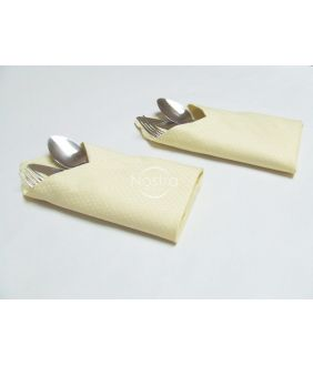 Jacquard sateen napkins, 6 pcs 80-0002-IVORY